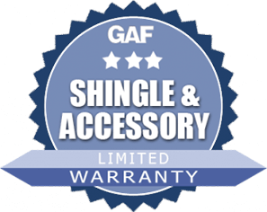 GAF Shingle Accessory Limited Warranty