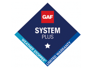 GAF System Plus Weather-Stopper Limited Warranty